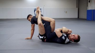 How To Do The Toe Hold