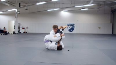 Traditional Stack Escape From The Armbar